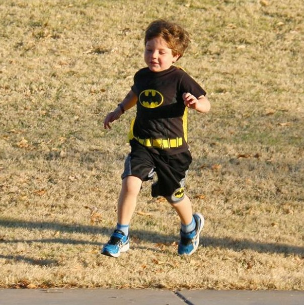kid batman runner